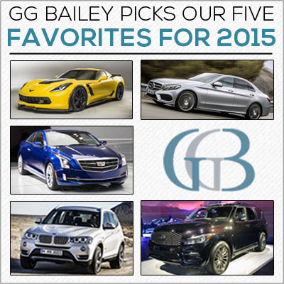 top five cars for 2015