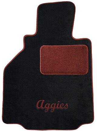 Aggies car mats