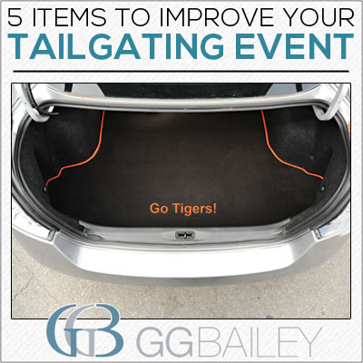 Tailgate Tips trunk mat