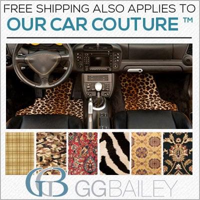 Couture Car Mats