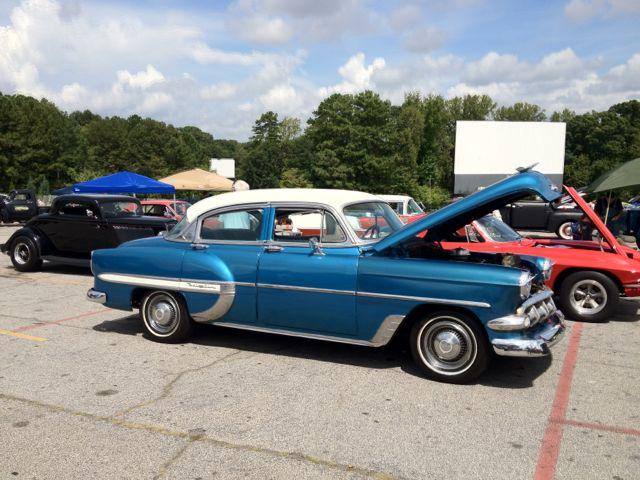 Antique Bel Air at Drive Invasion
