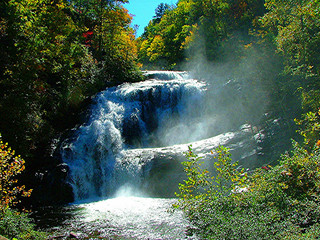 Bald River Falls in Tennessee