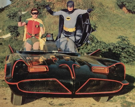 What kind of custom car mat would go in the Batmobile?