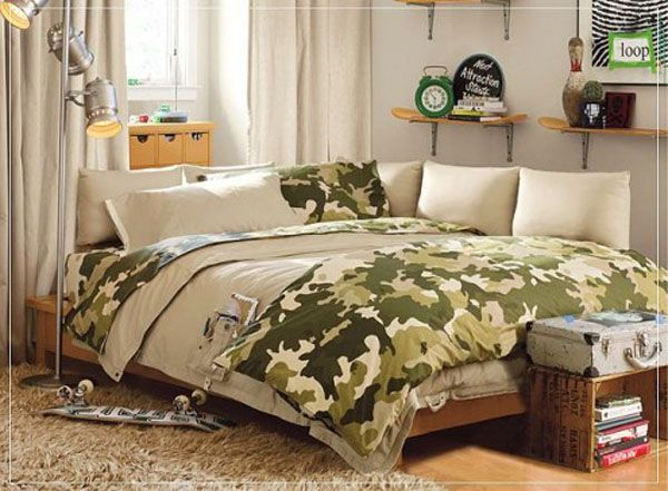 Camo Bedding for Teen Bedroom