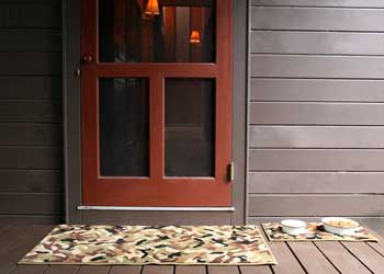 Camo Entry Mat from GGBailey