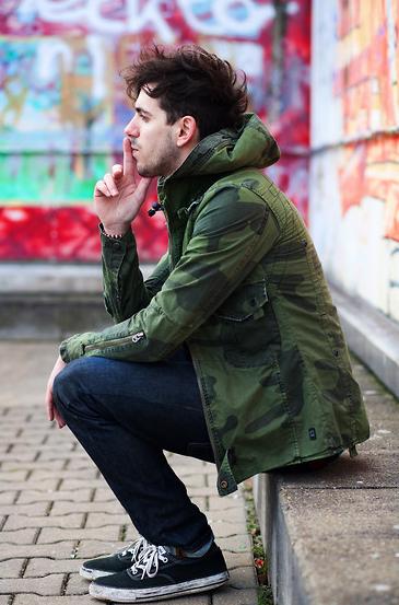 Camo Jacket for Men