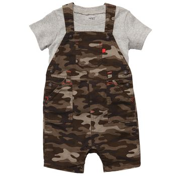 Camo Overalls for Toddlers and Babies