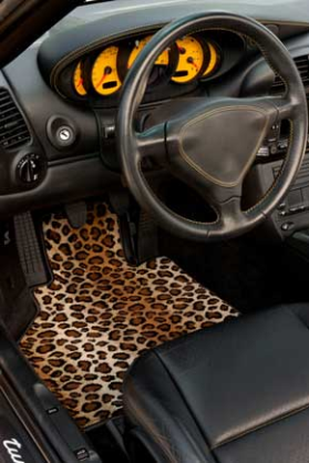 Car Couture Luxury Car Mat from GG Bailey