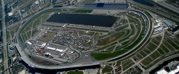 Daytona International Speedway from 3500 feet