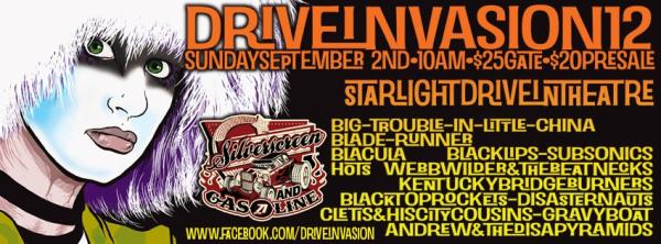 Drive Invasion at the Starlight Six Drive-in in Atlanta