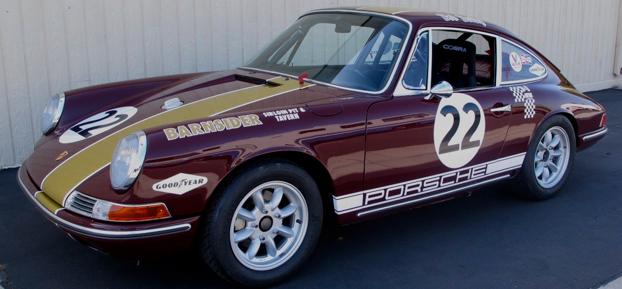Fully restored Porsche 911L