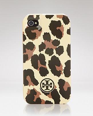 Tory Burch Leopard iPhone Case