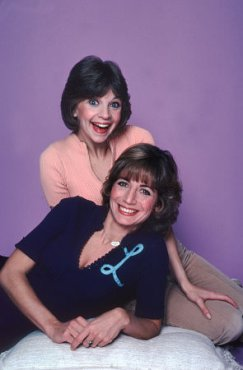 Laverne and Shirley Monogram