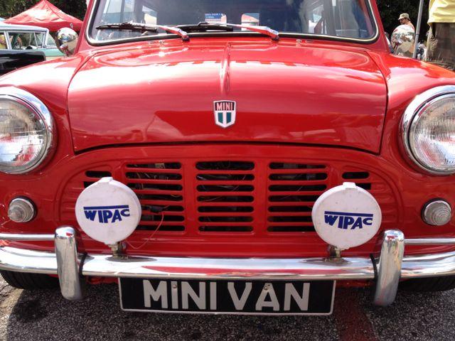 Mini Cooper Van