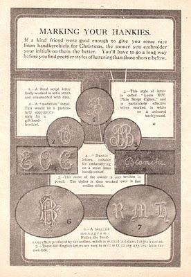 Monogram from 1913