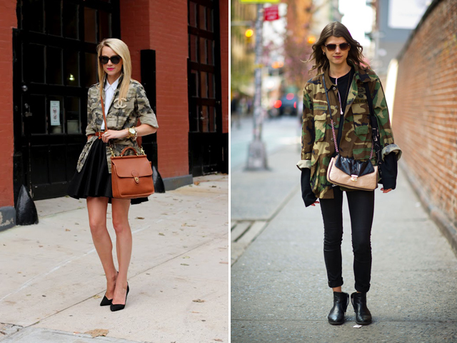 Camo Jacket for Women Two Different Ways