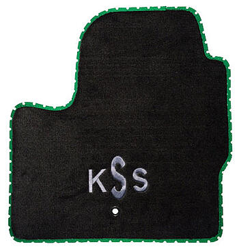 Custom Monogram car mat