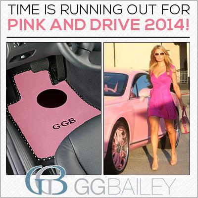 Pink Car Floor Mats