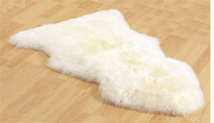Sheepskin Rugs make great gifts for Mother's Day