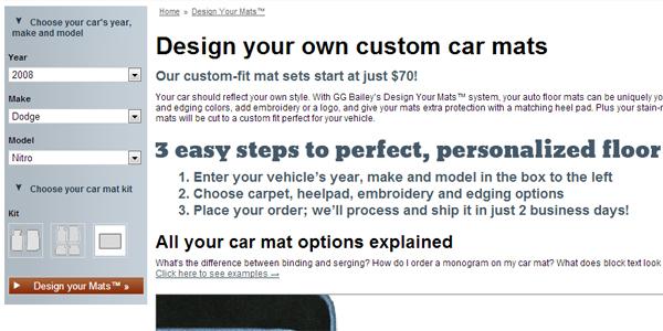 Custom Auto Mats 1