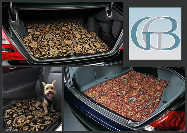 GG Bailey offers luxury mats for cars and dogs