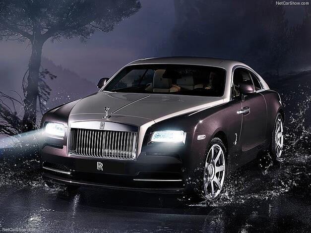 Rolls Royce Wraith, debuted at New York International Auto Show