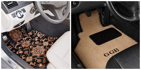 create your own car mats using GG Bailey's Design Your Mats program