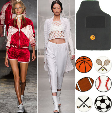 Sports Fashion floor mats