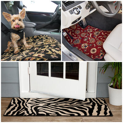 Car Couture woven carpets