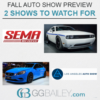 Fall Auto Shows