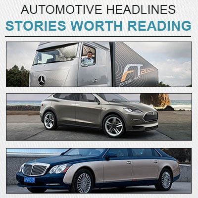 Automotive headlines