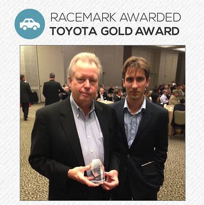 toyota gold award racemark