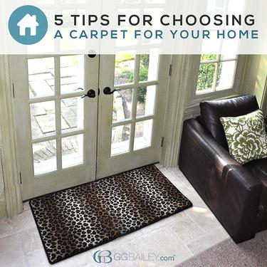 home carpet mat tips