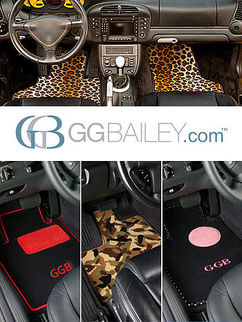 custom designed, custom fit car floor mats