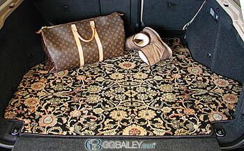 custom cargo trunk mat oriental