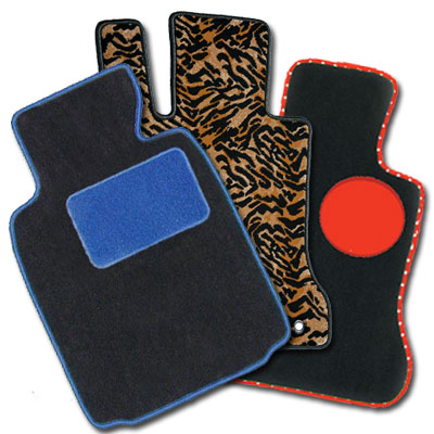Custom floor mats tiger