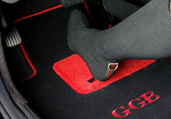 heelpad custom floor mat
