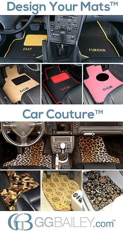 custom design car floor mats