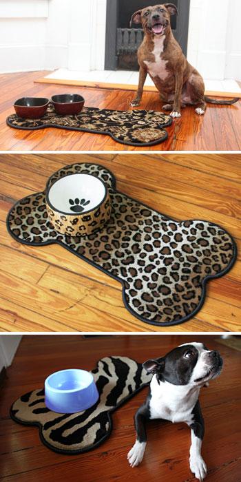 bone dog pet mats