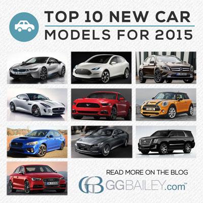 top 2015 car models