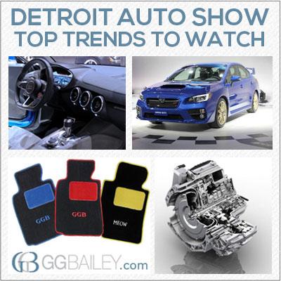 Detroit Auto Show 2014 tren