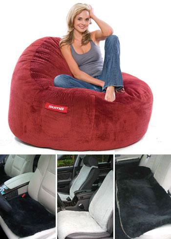sheepskin products seat