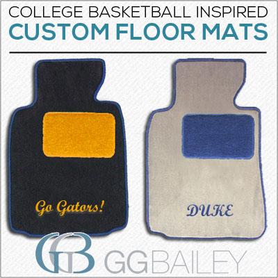 NCAA floor mats blog