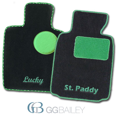 design your floor mats green