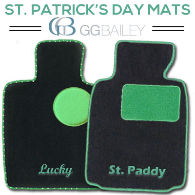 St Patricks Day Floor Mats
