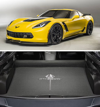 Corvette Z06 Stingray car floor mats