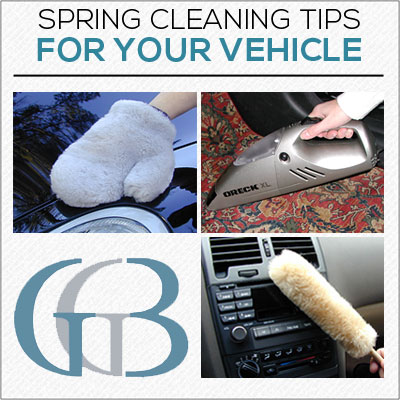 Spring Cleaning Car