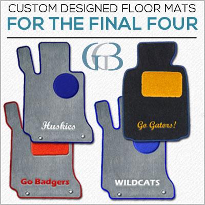 NCAA final four floor mats