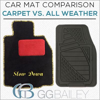 Carpet vs all weather car m