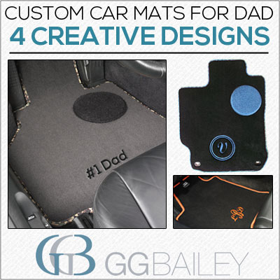 Four Creative Car Mats